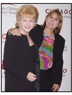 """Debbie Reynolds and Carrie Fisher at the 2nd Annual """"Runway for Life"""" Celebrity Fashion Show"""