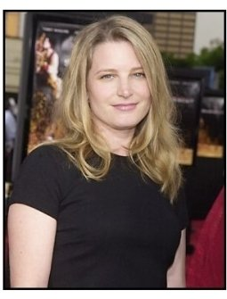 "Bridget Fonda at the ""Seabiscuit"" premiere"