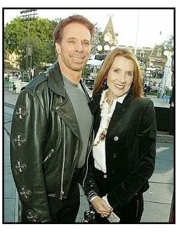 """ONE TIME USE ONLY: Jerry  Bruckheimer with wife Linda at the """"Pirates of the Caribbean: The Curse of the Black Pearl"""" World Premiere"""