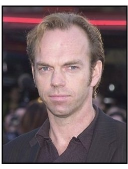 "Hugo Weaving at ""The Matrix Reloaded"" premiere"