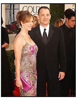 2003 Golden Globe Awards: Tom Hanks and Rita Wilson