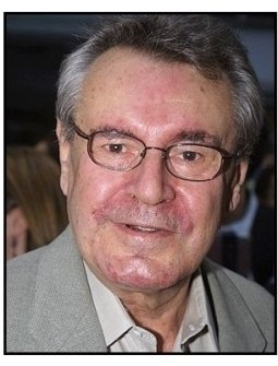 Milos Forman at the Minority Report premiere