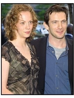 Dan Futterman and date at the Enough premiere