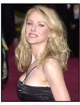 Naomi Watts at the 2002 Academy Awards