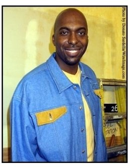 John Salley at the Highlands Grand Opening
