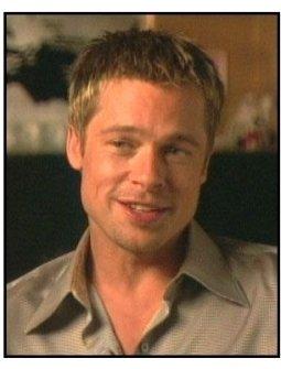 """""""Ocean's Eleven"""" Interview Video Still: Brad Pitt"""