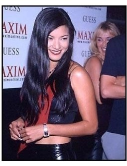 Kelly Hu at the 2000 Maxim Motel Party