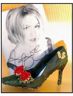 Weitzman Shoe: Jennie Garth
