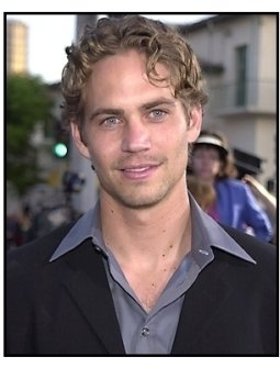 Paul Walker at The Fast and the Furious premiere