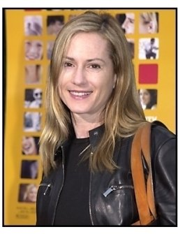 Holly Hunter at The Anniversary Party premiere