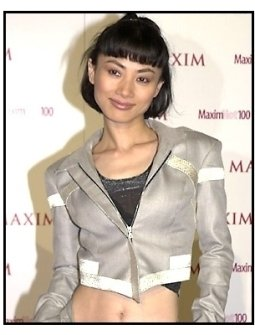 Bai Ling at the Maxim Hot 100 Party