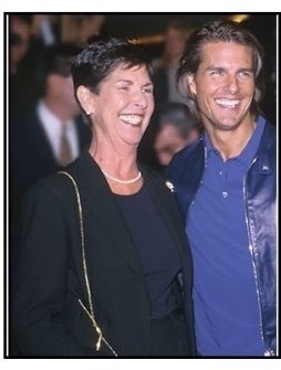 "Tom Cruise and mother Mary South at the ""Magnolia"" Premiere."