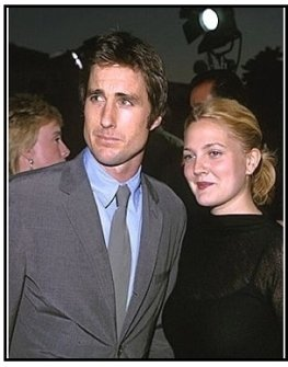"Luke WIlson and Drew Barrymore at ""Blue Streak"" Premiere."