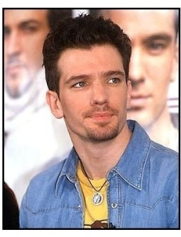 'N Sync member JC Chasez at the 'N Sync-MSN Press Conference