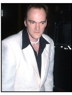 Quentin Tarantino at the Snatch premiere