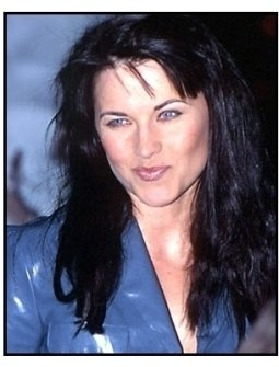 Lucy Lawless at The Gift premiere