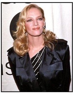 Uma Thurman at the 2000 VH-1 / Vogue Fashion Awards