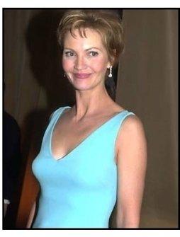 Joan Allen at the 2001 Golden Globe Universal / Dreamworks party