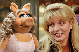 Miss Piggy, Laura Palmer
