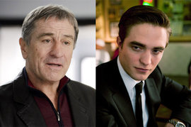 Robert De Niro and Robert Pattinson, Grudge Match, Cosmopolis