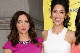 Chelsea Peretti and Stephanie Beatriz