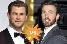 Chris Hemsworth, Chris Evans