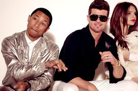 Robin Thicke, Pharrell Williams