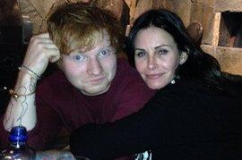 Courteney Cox, Ed Sheeran