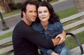 Lauren Graham, Scott Patterson, Gilmore Girls