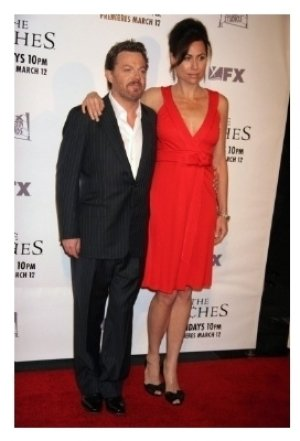 Eddie Izzard and Minnie Driver