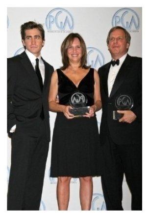 Jake Gyllenhaal with Lucy Fisher and Doug Wick