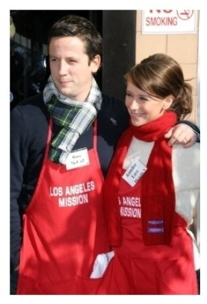 Ross McCall and Jennifer Love Hewitt