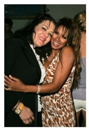 Joanie Laurer and Traci Bingham
