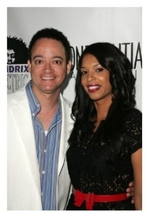 Christopher Reid and wife Kimberly