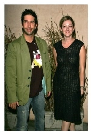 David Schwimmer and Judy Greer