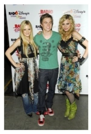 Aly Michalka Jesse McCartney and AJ Michalka
