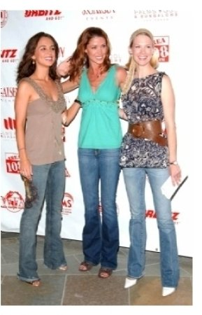 Eliza Dushku with Shannon Elizabeth and January Jones