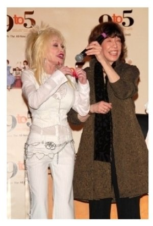 Dolly Parton and Lily Tomlin