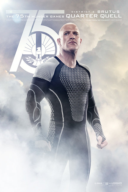Hunger Games: Catching Fire Poster Brutus