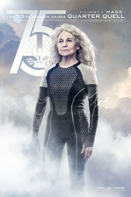 The Hunger Games: Catching Fire, Mags