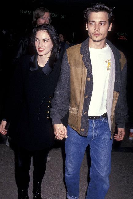Winona Ryder, Johnny Depp