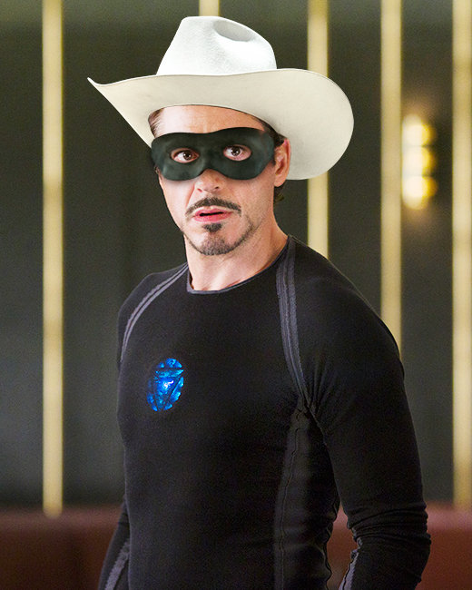 Robert Downey Jr., Iron Man, The Lone Ranger