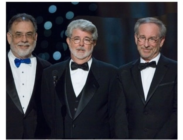 79th Annual Academy Awards Show Photos: Francis Ford Coppola, George Lucas and Steven Spielberg