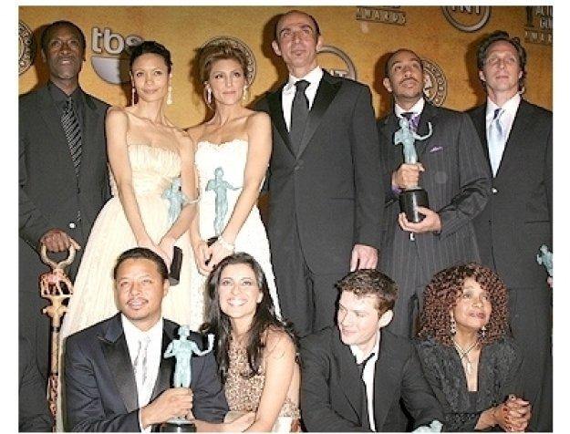 2006 SAG Awards Press Room: Cast of Crash