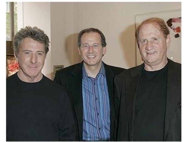 Martin Katz: Dustin Hoffman, Martin Katz and Mike Medavoy