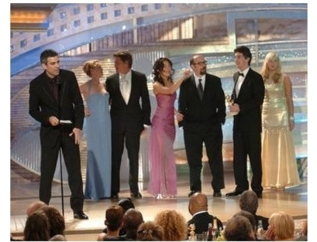 Cast of Sideways at the 62nd Golden Globe Awards