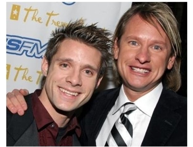 Crack'd Xmas 7 Party: Danny Pintauro and Carson Kressley
