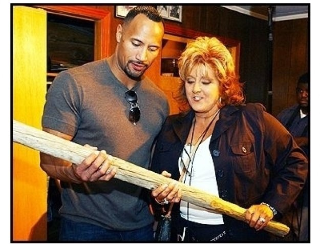 """The Rock & Dwana Pusser at the Nashville Premiere of """"Walking Tall"""""""