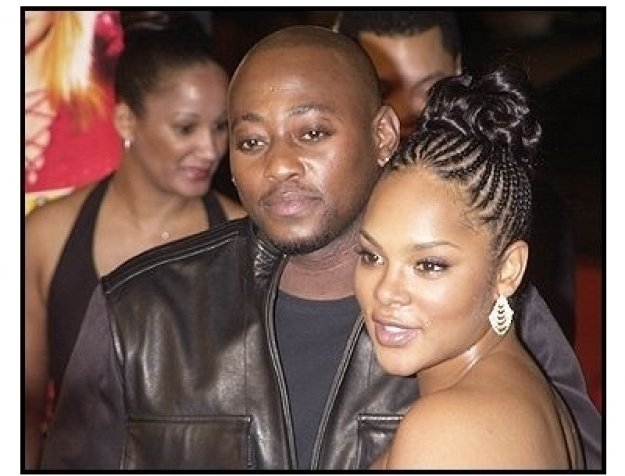 "Omar Epps and date at the ""Against the Ropes"" Premiere"