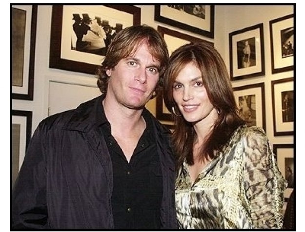 Cindy Crawford and husband Rande Gerber at Tanqueray No. TEN's preview of the Herb Ritts memorial collection